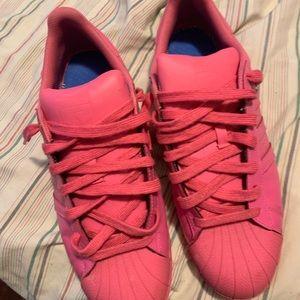 Adidas Pharrell Superstar Pink